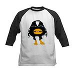 Laughing Penguin 1 Kids Baseball Jersey