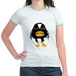 Laughing Penguin 1 Jr. Ringer T-Shirt