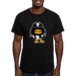 Laughing Penguin 1 Men's Fitted T-Shirt (dark)