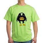 Laughing Penguin 1 Green T-Shirt