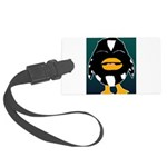 Laughing Penguin Large Luggage Tag