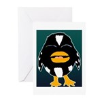 Laughing Penguin Greeting Cards (Pk of 10)