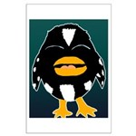 Laughing Penguin Large Poster