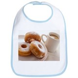 Coffee and doughnuts - Bib