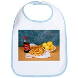 Fish and chips - Bib