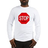 Stop Hamza Long Sleeve T-Shirt