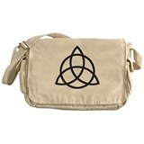 Triquetra Messenger Bag