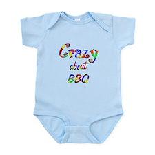 Crazy About BBQ Infant Bodysuit