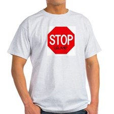 Stop Leland Ash Grey T-Shirt