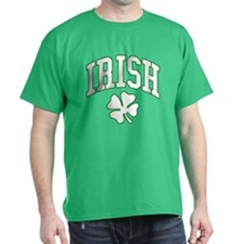 IRISH with Shamrock T-Shirt