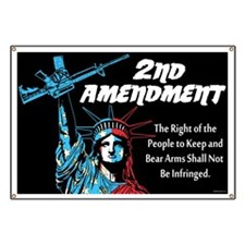 2nd Amendment Banner