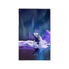 Contemplative Polar Bear 3'x5' Area Rug