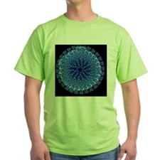 Influenza virus, computer artwork - T-Shirt