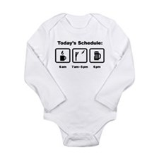 Bird Watching Long Sleeve Infant Bodysuit