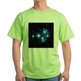 Optical image of the Pleiades star cluste - T-Shirt