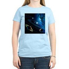 Artwork of the solar system - T-Shirt