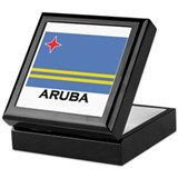 Aruba Flag Merchandise Keepsake Box
