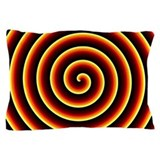 Fire Spiral Pillow Case