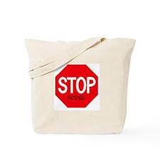 Stop Adriel Tote Bag