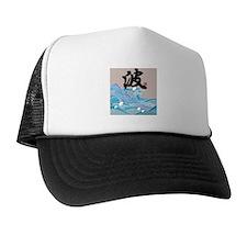 """Wave & """"Wave"""" Trucker Hat"""