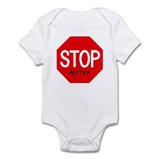 Stop Aditya Infant Bodysuit