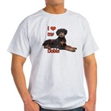 I heart my Doberman T-Shirt