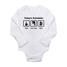 Rock Climbing Long Sleeve Infant Bodysuit