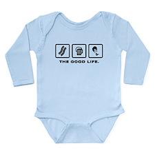 Paramotoring Long Sleeve Infant Bodysuit