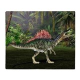Spinosaurus dinosaur - Throw Blanket