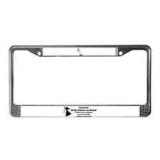 Unique Belly License Plate Frame
