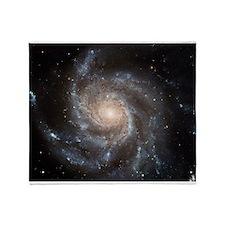 Spiral galaxy M101 - Throw Blanket