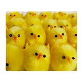 Toy chicks - Throw Blanket