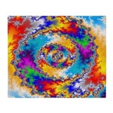 Mandelbrot fractal - Throw Blanket