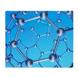 Buckminsterfullerene - Throw Blanket