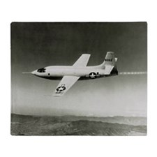 Bell X-1 in flight, the first supersonic aircraft