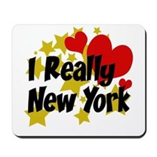 I Really Love New York Mousepad