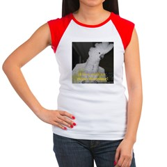 Umbrella Cockatoo Women's Cap Sleeve T-Shirt