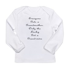 Grand-mere Long Sleeve Infant T-Shirt