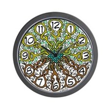 Celtic Tree of Life Wall Clock