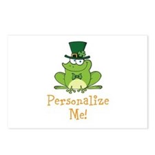 Leprechaun Frog Postcards (Package of 8)