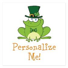 Leprechaun Frog Invitations