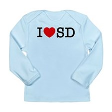 San Diego Long Sleeve Infant T-Shirt