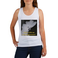 Umbrella Cockatoo Women's Tank Top