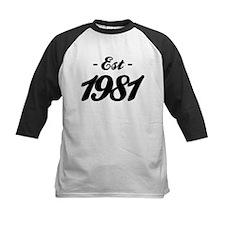 Established 1981 - Birthday Tee