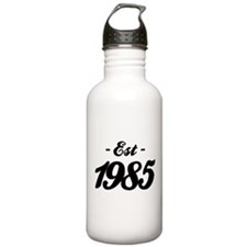 Established 1985 - Birthday Sports Water Bottle