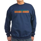 Miami Beach Skyline Jumper Sweater