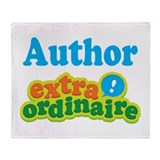 Author Extraordinaire Throw Blanket