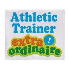 Athletic Trainer Extraordinaire Throw Blanket