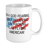 God Fearing American Coffee Mug