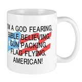 God Fearing American Small Mugs